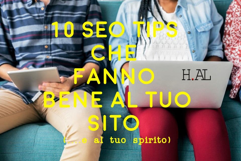 10 SEO tips che fanno bene al tuo sito