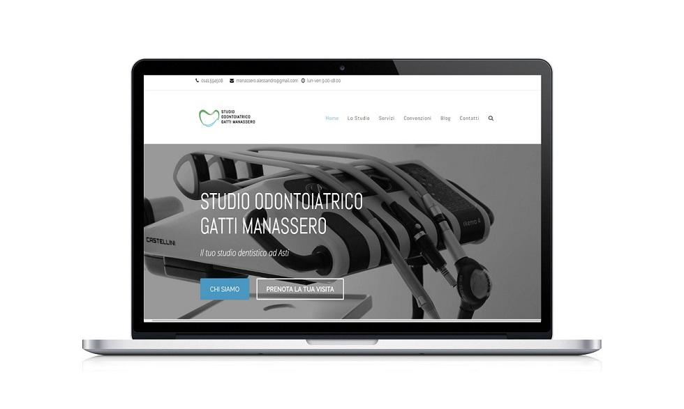 Vi presentiamo il nuovo sito dello Studio Odontoiatrico Gatti e Manassero