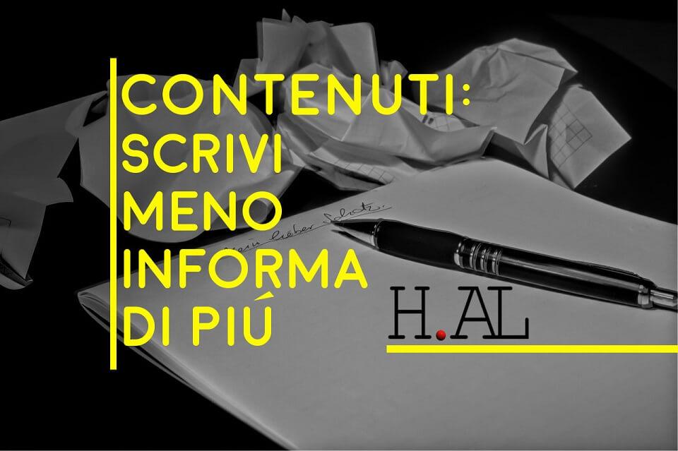 Contenuti: scrivi meno, informa di più…e converti!