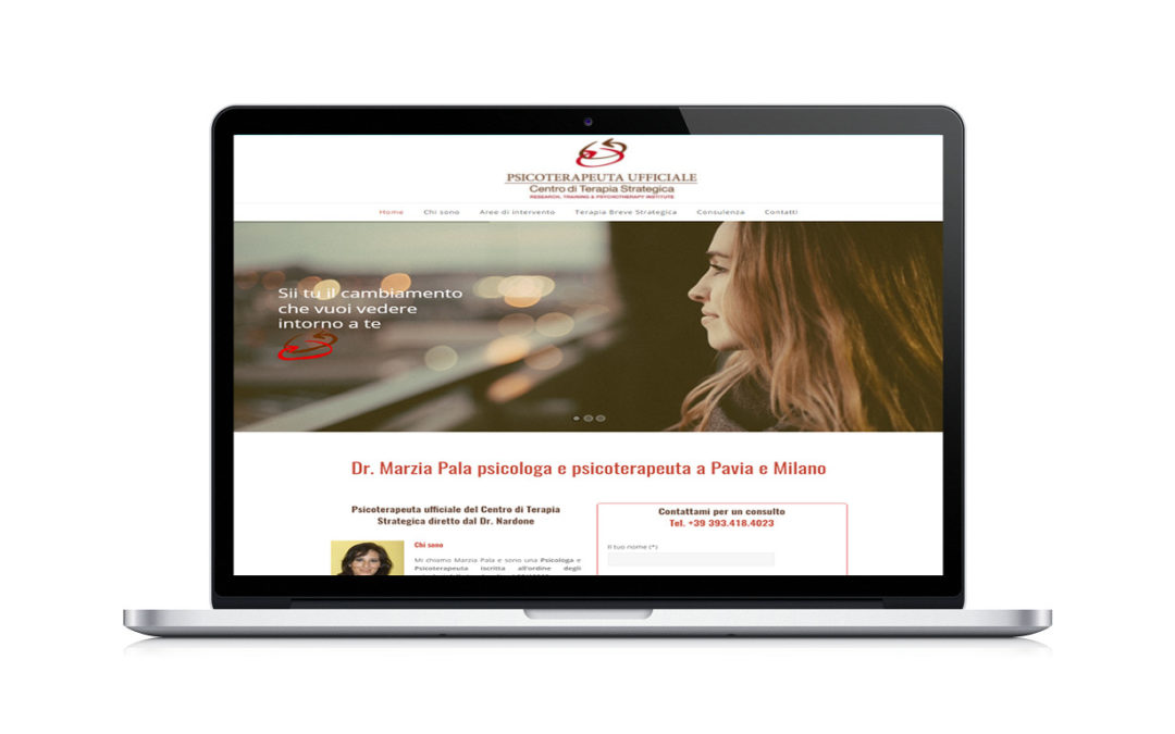 Ecco il nuovo sito della Dott.ssa Marzia Pala Psicologa e Psicoterapeuta
