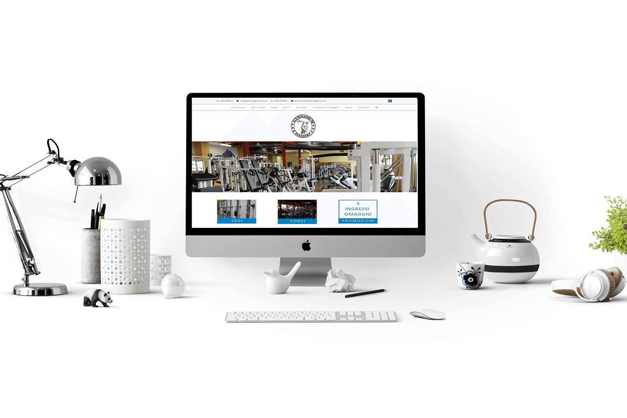 realizzazione sito palestre gymnasium pavia desktop